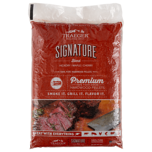 Traeger Signature Blend Wood Pellets