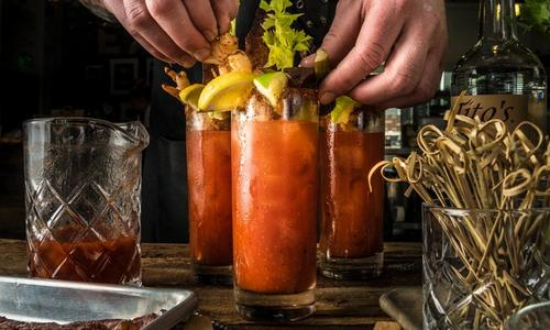 Smoked Bloody Mary Cocktail