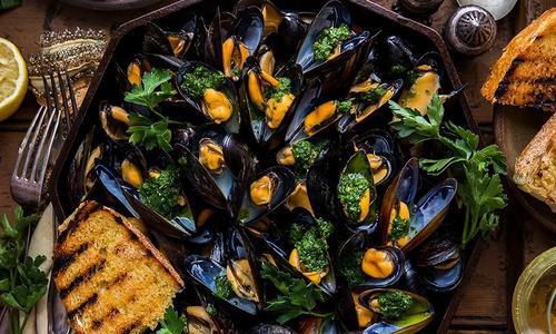Traeger Smoked Mussels By Dennis The Prescott