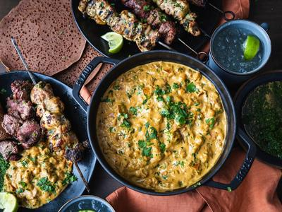 Smoked Chickpea Coconut Curry Recipe