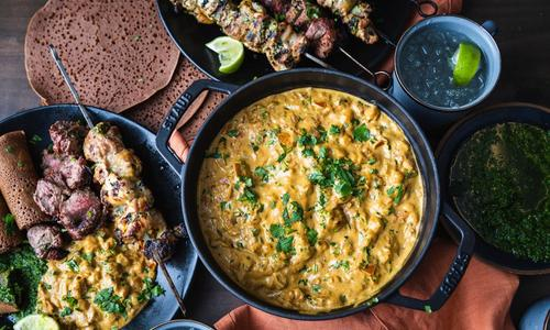 Smoked Chickpea Coconut Curry
