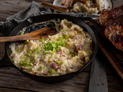 Smoked Mashed Potatoes Recipe