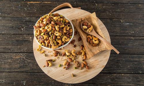 Traeger Smoked Nut Mix