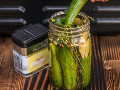Smoked Whole Pickles Recipe