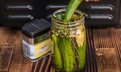 Smoked Whole Pickles