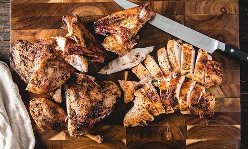 Roasted Spatchcocked Turkey