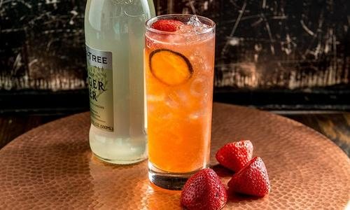 Strawberry Mule Cocktail