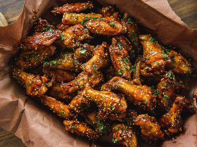 Roasted Sweet Thai Chili Wings by Matt Pittman Recipe