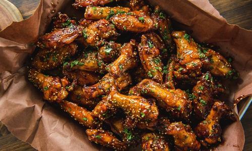 Roasted Sweet Thai Chili Wings by Matt Pittman