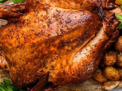 Whole Smoked Chicken Recipe