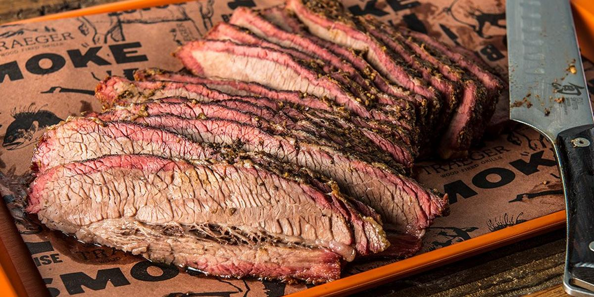 Texas Style Smoked Beef Brisket By Doug Scheiding Recipe Traeger Grills
