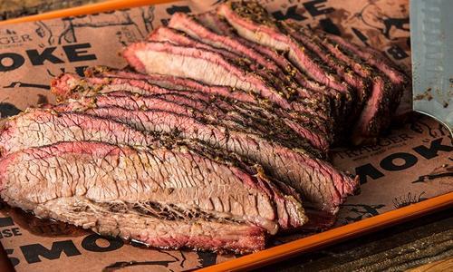 Texas-Style Smoked Beef Brisket by Doug Scheiding