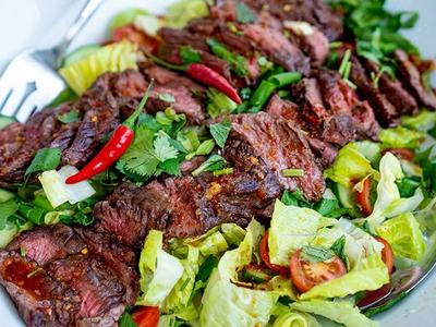 Grilled Thai Beef Salad by ThaiFusions Recipe