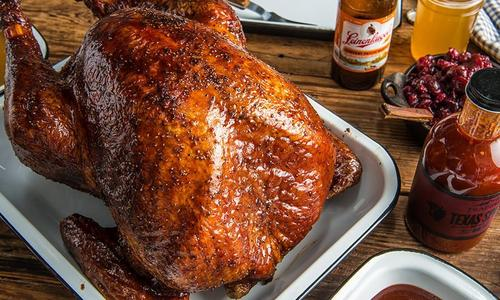 Thanksgiving BBQ Turkey