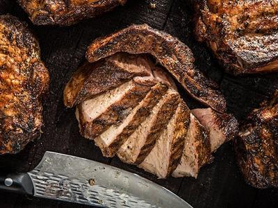 Grilled Thick-Cut Pork Chops Recipe