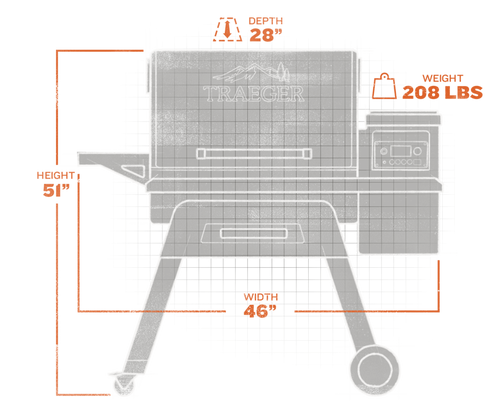 Traeger Timberline 850 Pellet Grillextorior and interior views