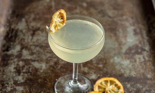 Traeger French 75 Cocktail