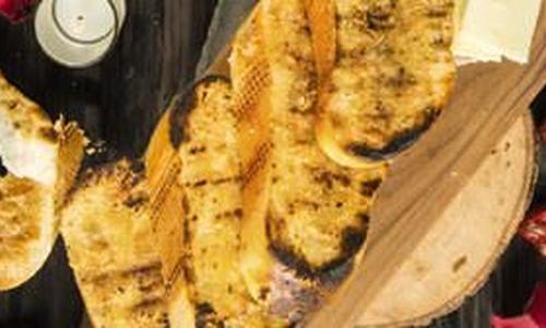 Traeger Garlic Bread