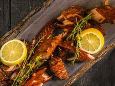 Sweet Smoked Salmon Jerky