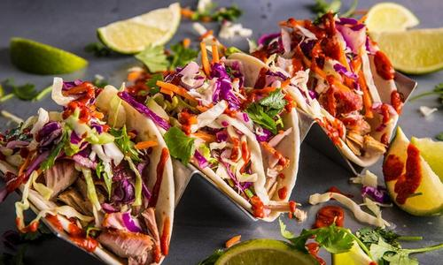 Smoked Tuna Belly Tacos by Journey South
