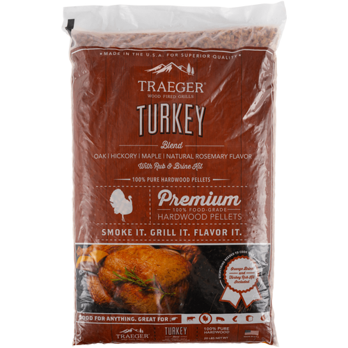 Traeger Turkey Blend w/ Brine Kit Wood Pellets