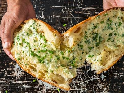 Ultimate Baked Garlic Bread Recipe