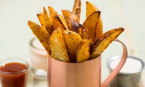 Crispy No-Fry Potatoes