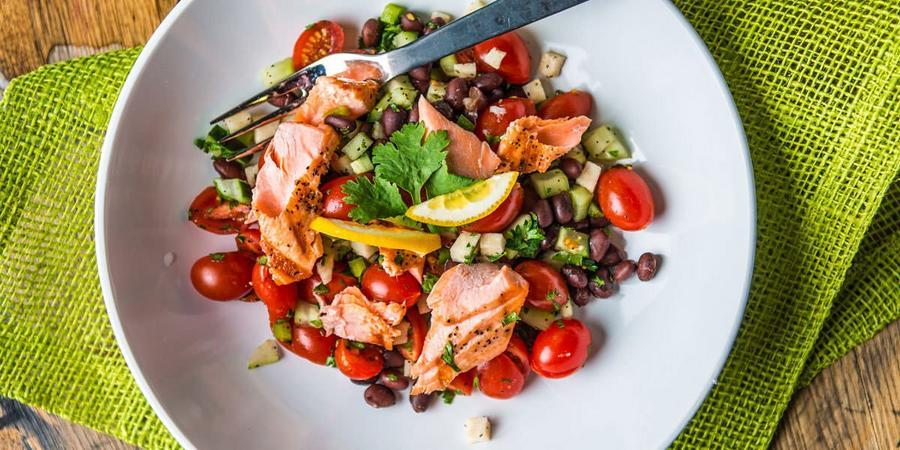 image of Smoked Salmon Salad