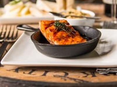 BBQ Roasted Salmon Recipe