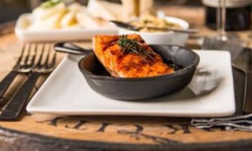 BBQ Roasted Salmon