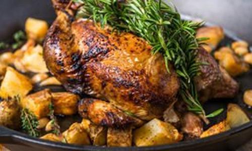 Roast Chicken & Pimenton Potatoes
