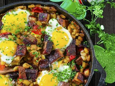 Breakfast Brisket Hash Recipe Recipe