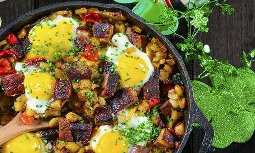 Breakfast Brisket Hash Recipe