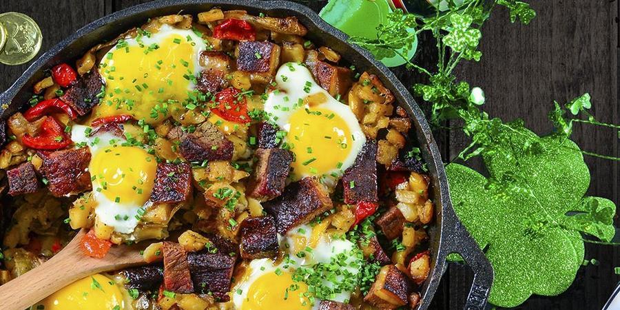 image of Breakfast Brisket Hash Recipe