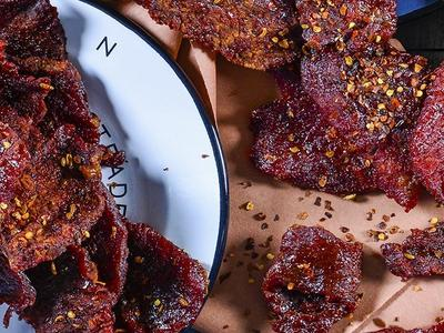 Spicy Smoked Chili Beef Jerky Recipe