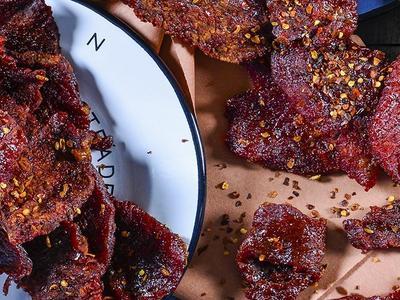 Spicy Smoked Chili Beef Jerky