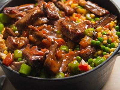 Braised Brunswick Stew Recipe