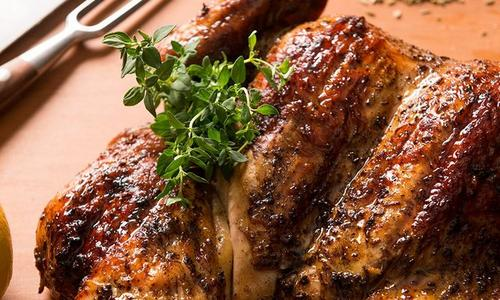 Spatchcock Chicken with Toasted Fennel & Garlic