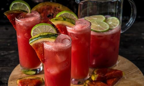 Grilled Watermelon Punch