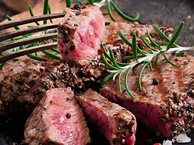 Beef Tenderloin with Tomato Vinaigrette Recipe