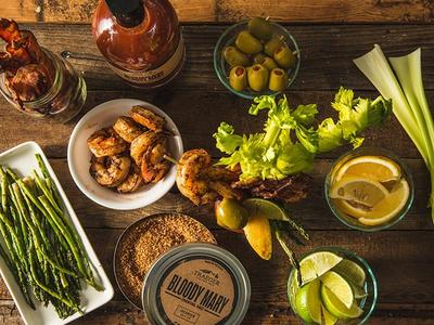 Bloody Mary With Grilled Garnishes Recipe
