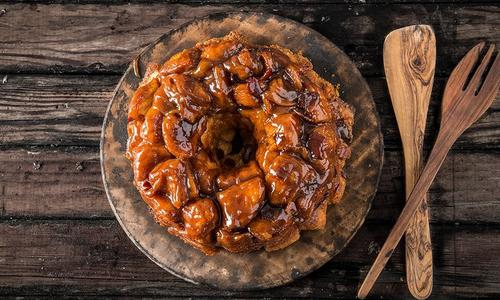 Baked Bourbon Monkey Bread