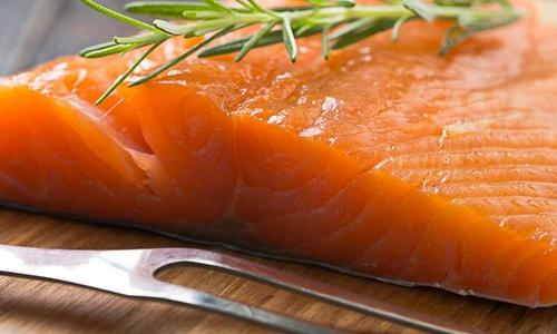 Cider Hot-Smoked Salmon
