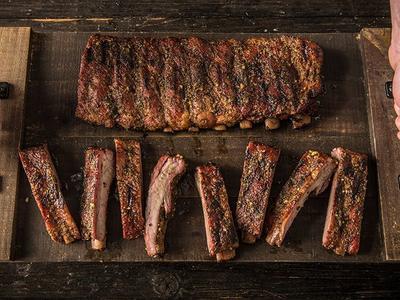 BBQ Herb Crusted Ribs Recipe