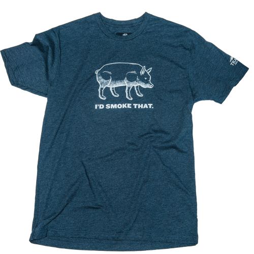 I'd Smoke That Pig T-Shirt - Medium