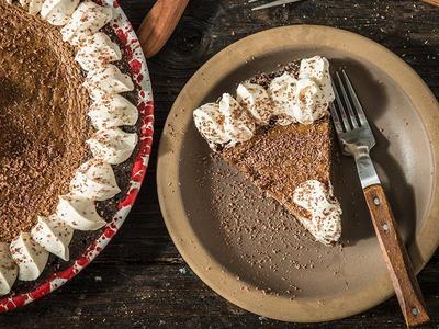 Smoked Irish Coffee Pie Recipe