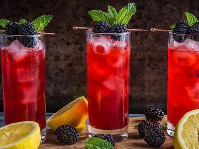 Smoky Mountain Bramble Cocktail Recipe