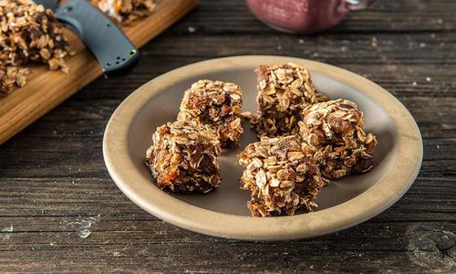 Traeger Baked Protein Bars