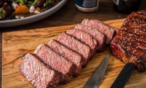 Reverse Seared NY Strip Steak