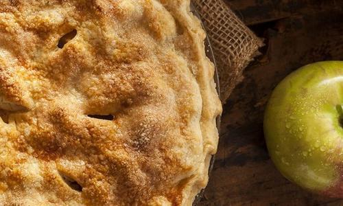 Smoked Roasted Apple Pie
